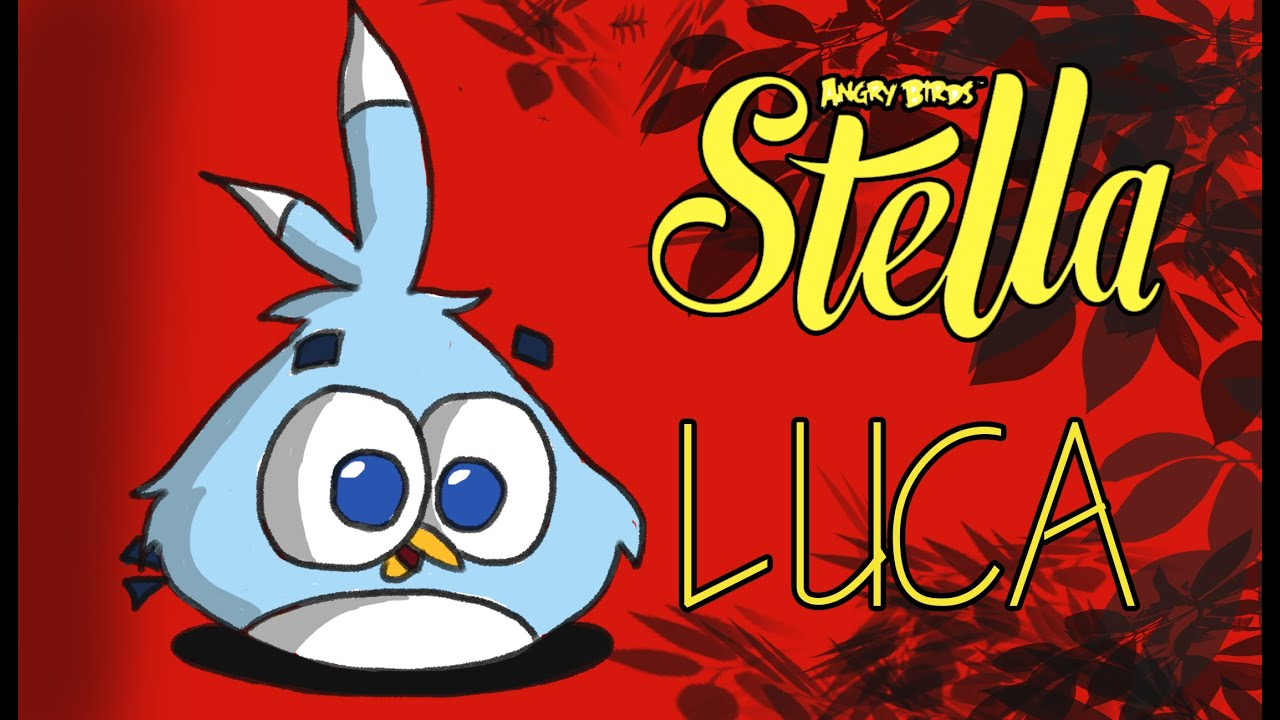 Angry Birds Stella Drawings How to Draw Luca From Angry