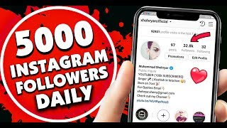 INSTAGRAM FOLLOWERS 2019 - HOW TO INCREASE FOLLOWERS ON INSTAGRAM - GET 500 INSTAGRAM FOLLOWERS 2019