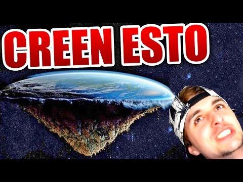 Hay MUCHA GENTE que cree que LA TIERRA ES PLANA...!!! NASA = SATAN