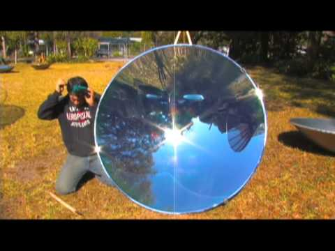Solar Quot Death Ray Quot Parabolic Mirror 55 7 Paraboloid Steam
