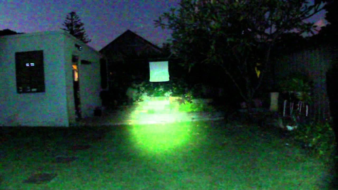 Bike Light Comparison 270 Lumen Vs 1800 Lumens Ebay Cree