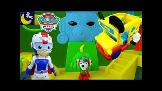 Paw Patrol Funny Toy Stories School Bus Mission Paw Air Patroller Toys Video Compilation
