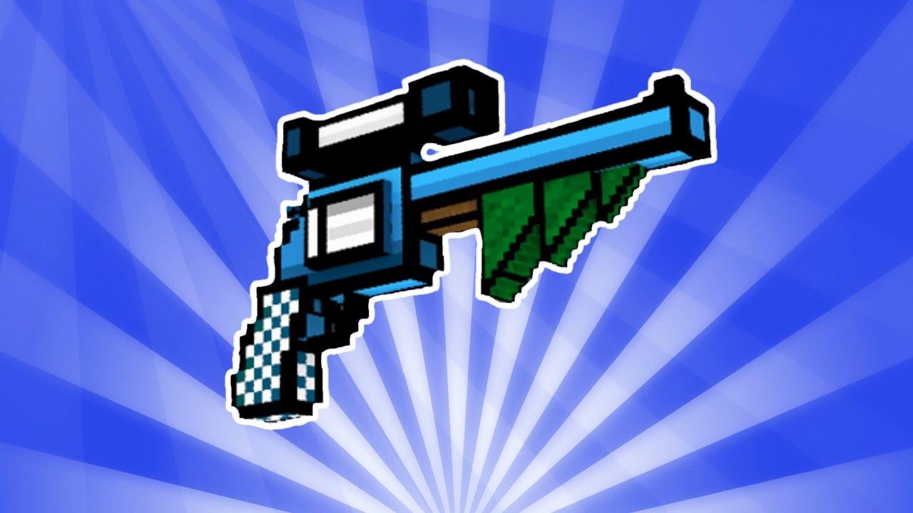 pixel gun 3d powerful gift review youtube
