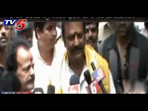 Actor Mohan babu visits Basara : TV5 News