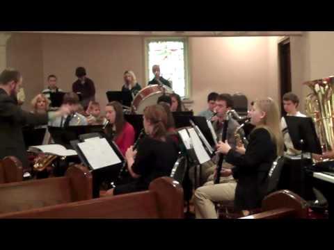 Metro East Lutheran High School band