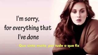 Adele   Hello Lyrics Legendado em Português   Cover