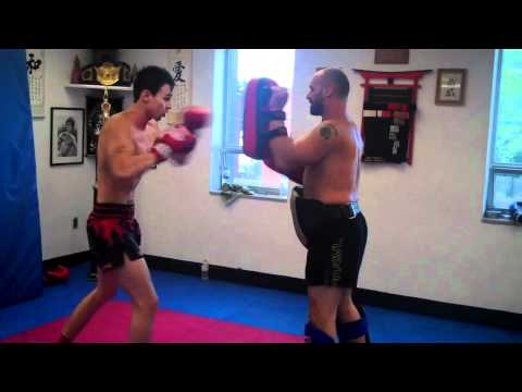 MUAY THAI DRILLS CHECKING KICK COUNTERS Image 1