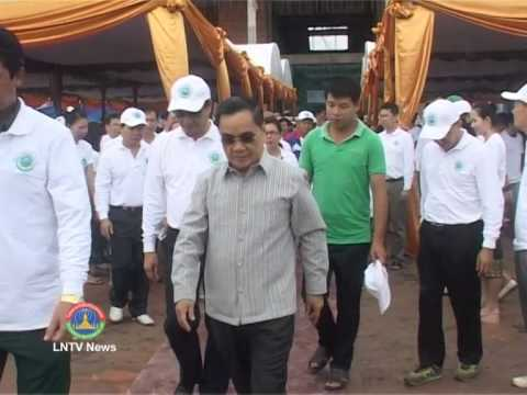 Lao NEWS on LNTV: Laos join global nations to mark World Environment Day.9/6/2014