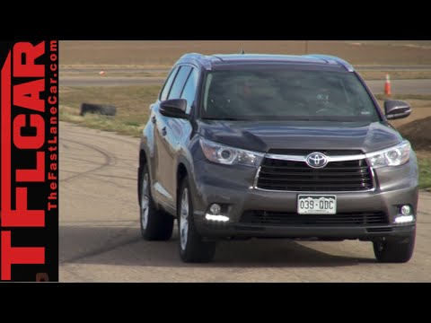 2015 Toyota Highlander Hybrid Review: How far will it go in Electric Mode?
