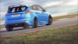2016 ford focus rs top speed