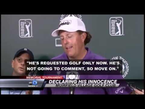 PGA's Mickelson Cooperating in FBI Probe