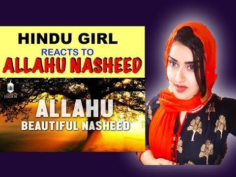 Hindu Girl Reacts To ALLAHU (Heart Touching Nasheed)   ALLAHU NASHEED   ALLAHU ALLAHU   REACTION  
