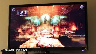 NVIDIA SHIELD Tablet demo: Trine 2 on Android