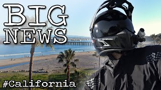 BIG News & California Roadtrip