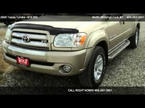 2006 Toyota Tundra SR5 - for sale in Whitehall, MT 59759