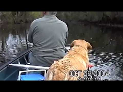 Fishing Blackfork River with Lucy Girl Leflore County Oklahoma Oct 2004