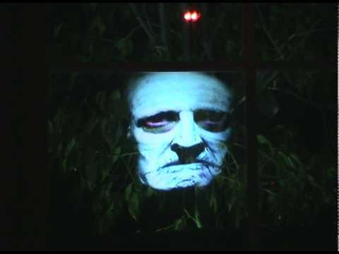 Big Scream Halloween Hologram Illusion Video
