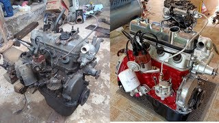 Toyota 4K Engine restoration