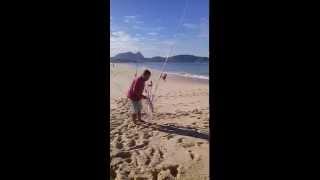 Corvina na Praia de Piratininga - Niterói (13/07/2013)
