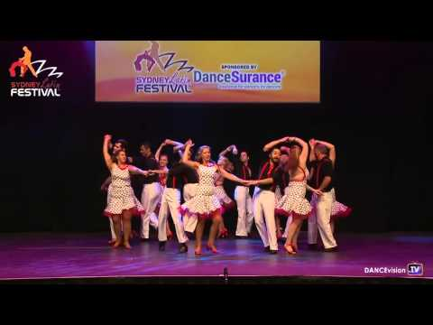 2016 Sydney Latin Festival. Viva Dance.  Cuban Team