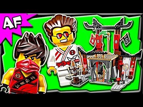 Lego Ninjago DOJO SHOWDOWN 70756 Stop Motion Build Review