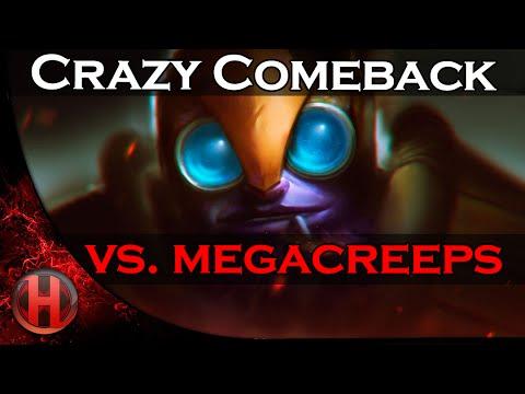 Crazy Comeback | Throne Rush by WH vs. coL Megacreeps Dota 2