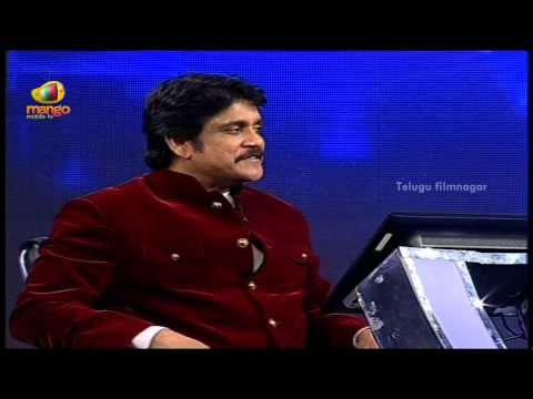 Manam Nagarjuna Funny Interview With Amala  Meelo Evaru Koteeswarudu Tv Game Show Launch video