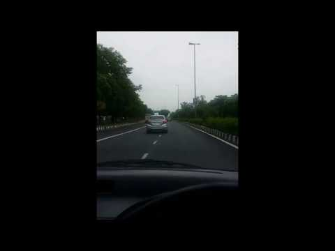 Rain in delhi while driving assome weather