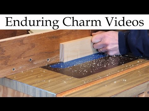 how to cut a tenon with a plunge router