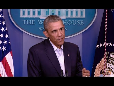 The President Speaks on Iraq and Ferguson