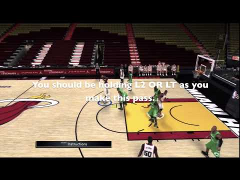 NBA 2K11 - How to do an Alley Oop in NBA 2K11 / PS3. XBOX 360