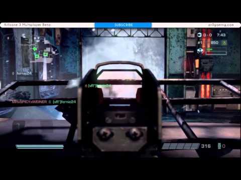 Killzone 3 Multiplayer Beta Gameplay   Marksman StA 52 Assault Rifle