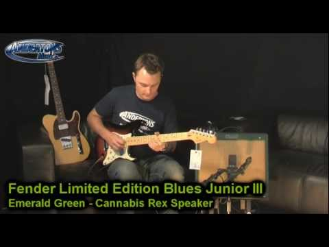 Fender Limited Edition Blues Junior III in Emerald Green - Cannabis Rex Speaker Click here to here Captains full track at CD Quality http://bit.ly/p8DJ4w htt...