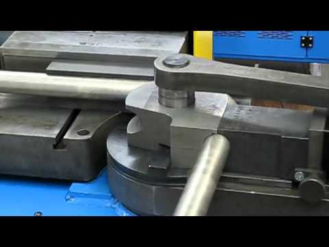Tubobend 80 Semi Automatic Pipe Bending Machine Youtube