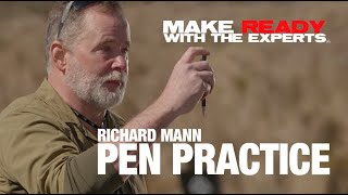 Richard Mann: Trigger control practice with a pen