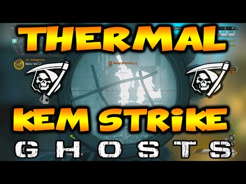 COD Ghosts: Beast Thermal Honey Badger KEM Strike! (Call of Duty Ghosts KEM Strike)