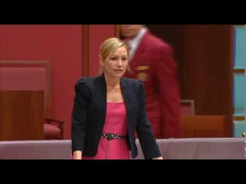 Larissa Waters second reading speech of Landholder Rights Bill