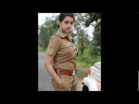 Bhavana Hot Photoshoot In Police Uniform For Polytechnic(2014) video