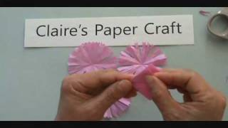 Paper Carnation For Mother's Day