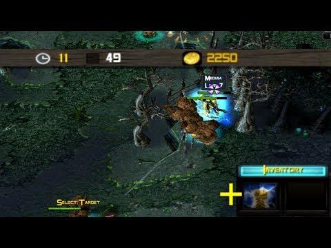 DotA Tricks #15 - Medusa 6 minutes Midas / 2050 gold jungle