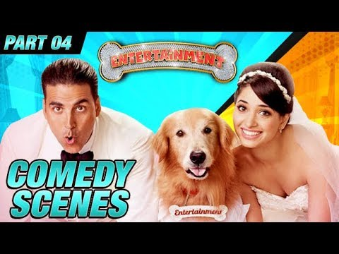 Entertainment Comedy Scenes | Akshay Kumar, Tamannaah Bhatia, Johnny Lever | Part 4 thumbnail