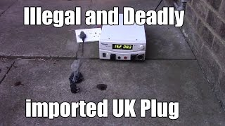Illegal and Deadly imported UK Plug Rant