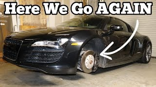 I Finished the Salvage Audi R8 Rebuild Project! (and then BROKE it)
