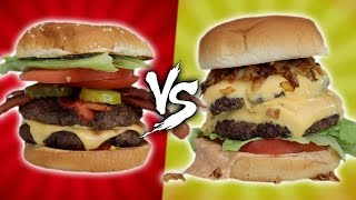 IN-N-OUT VS FIVE GUYS - HOMEMADE