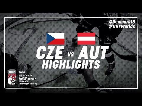 Game Highlights: Czech Republic vs Austria May 14 2018 | #IIHFWorlds 2018