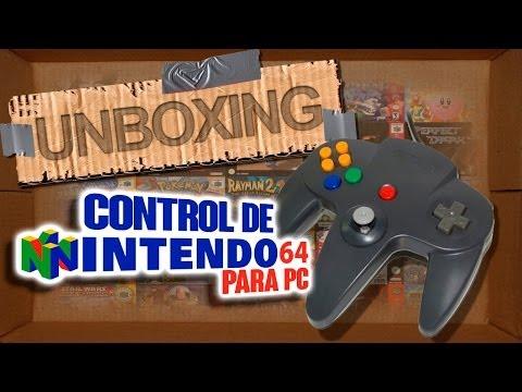 Unboxing: Control Nintendo 64 USB I Juegos Old School I