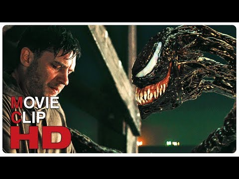 VENOM Eddie Meets Venom Scene Clip + Trailer (NEW 2018) Spider-Man Spin-Off Superhero Movie HD