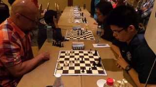 NUSS Open 2013: IM Luis Chiong vs CM Tan Weiliang