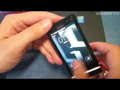 Sony Xperia U st25i - HARD RESET