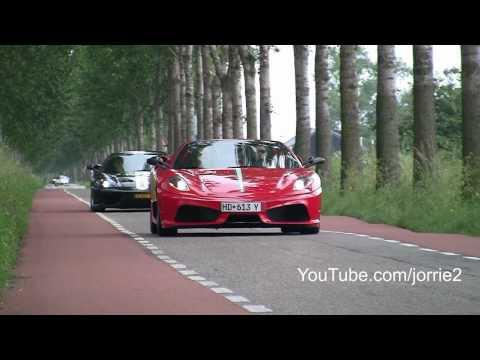 Ferrari 430 Scuderia 16M Spider Sound!! Revs + accelerations! - 1080p HD
